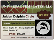 Get 15% OFF On All Adhesive Stencil Orders Till 2-28-13