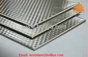 Stainless Steel Composite Panel for façade cladding and interior wall